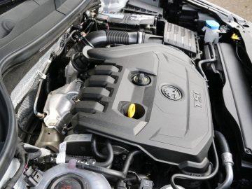 1,5-liter viercilinder benzinemotor met cilinderuitschakeling.
