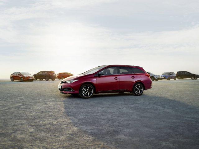 Toyota hybride tijdelijk gratis