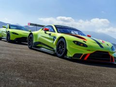 Aston Martin Vantage GTE Racecar