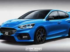 2019 Ford Focus RS X-Tomi Design